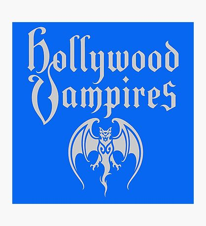 HOLLYWOOD VAMPIRES Photographic Print