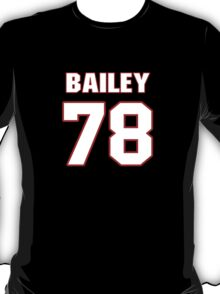 NFL Player Alvin Bailey seventyeight 78 T-Shirt