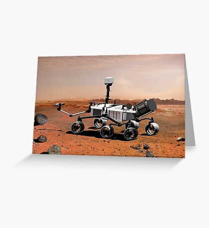 Mars Science Laboratory Greeting Card