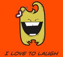 I LOVE TO LAUGH Kids Tee