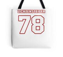 NFL Player Kory Lichtensteiger seventyeight 78 Tote Bag