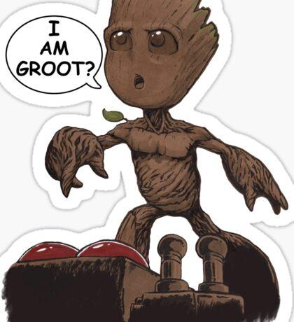I am Groot? Sticker
