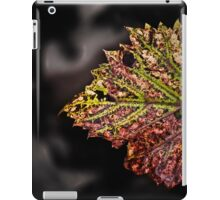 the beauty of stress iPad Case/Skin