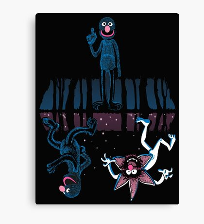 Monster Cookie Canvas Print