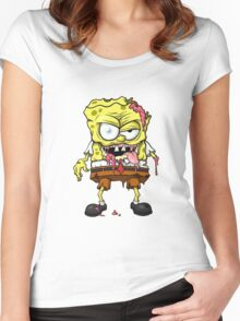spons bob Women's Fitted Scoop T-Shirt