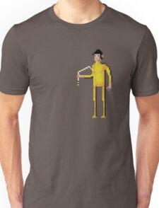 8-Bit Movie Bruce Lee Unisex T-Shirt