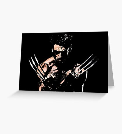 Wolverine | Logan & other Goods Greeting Card