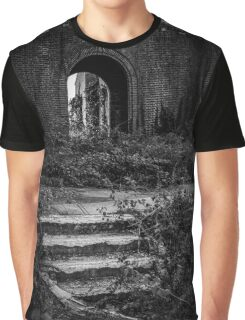 Pilgrim Psychiatric Center - Abounded Stairs Detail | West Brentwood, New York Graphic T-Shirt