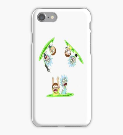 Teleport Rick And Morty iPhone Case/Skin