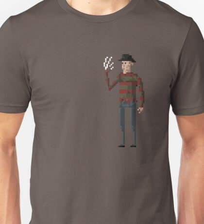 8-Bit Movie Freddy Kreuger Unisex T-Shirt
