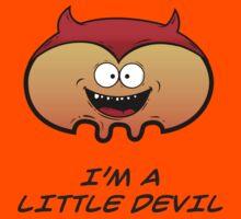 I'M A LITTLE DEVIL Kids Tee