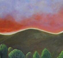 Nevada Skies II by Lynn Ahern Mitchell