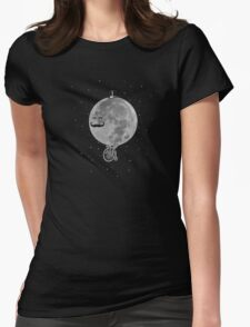 Lunar Cycle Womens Fitted T-Shirt