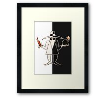 Double Agent Framed Print