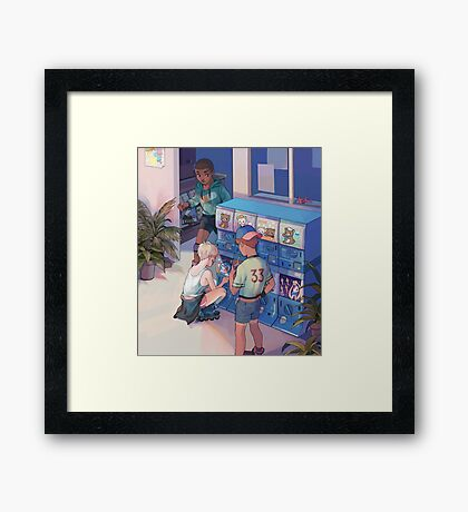 boys Framed Print