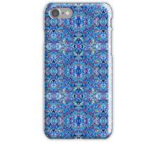 Blue Geometrics iPhone Case/Skin