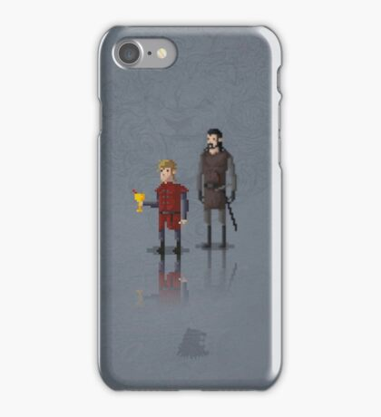 8-Bit TV Tyrion iPhone Case/Skin