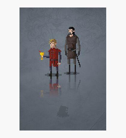 8-Bit TV Tyrion Photographic Print