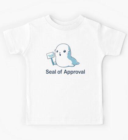 Seal of Approval Kids Tee