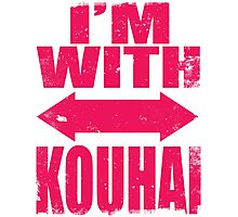 I'm With Kouhai (PINK) Photographic Print
