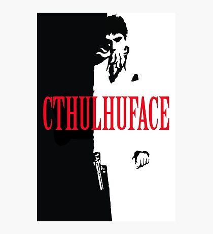 Cthulhuface Photographic Print