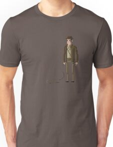 8-Bit TV Indy Jones Unisex T-Shirt