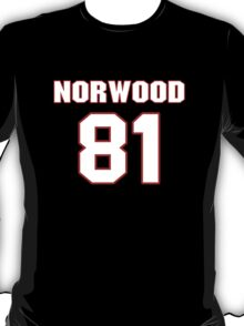 NFL Player Kevin Norwood eightyone 81 T-Shirt