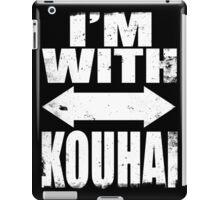 I'm With Kouhai (WHITE) iPad Case/Skin