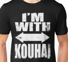 I'm With Kouhai (WHITE) Unisex T-Shirt