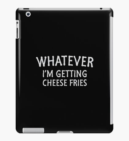 Cheese Fries iPad Case/Skin