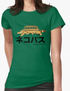 Catbus travel New Womens Fitted T-Shirt