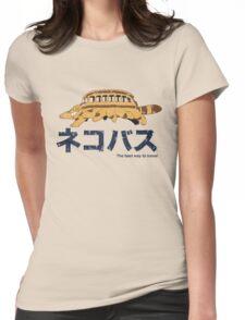 Nekobus retro Womens Fitted T-Shirt