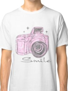 Camera Smile- womans photography shirt Classic T-Shirt