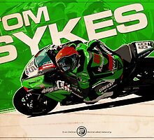 Tom Sykes - SBK 2012 by Evan DeCiren
