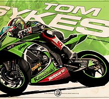 Tom Sykes - SBK 2013 by Evan DeCiren
