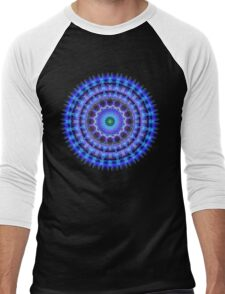Radiant Core Mandala Men's Baseball ¾ T-Shirt