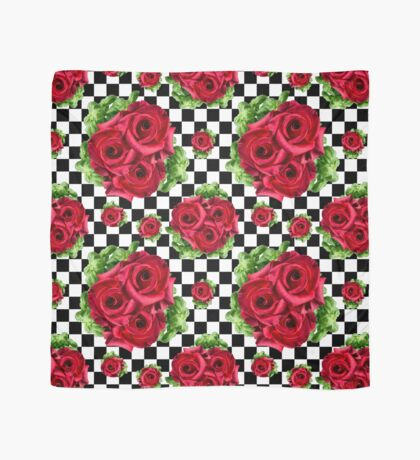 Red Roses Bouquet Valentine's Day Love Flowers Floral Arrangements Scarf