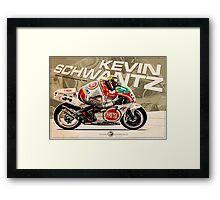 Kevin Schwantz - 500cc 1993 Framed Print