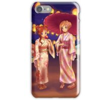 Matsuri Night iPhone Case/Skin