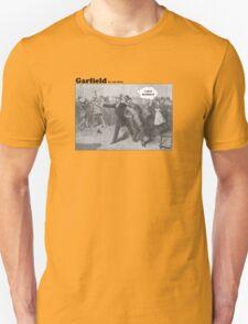 President Garfield Hates Mondays Unisex T-Shirt
