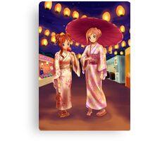 Matsuri Night Canvas Print