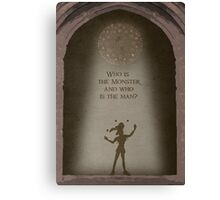The Hunchback of Notre Dame inspired design (Clopin). Canvas Print