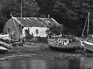 Boat Yard by Yampimon