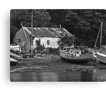 Boat Yard Canvas Print