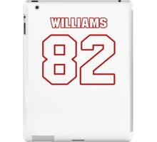 NFL Player Chris Williams eightytwo 82 iPad Case/Skin
