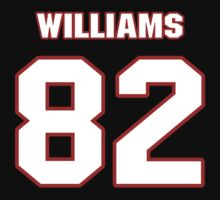 NFL Player Chris Williams eightytwo 82 by imsport