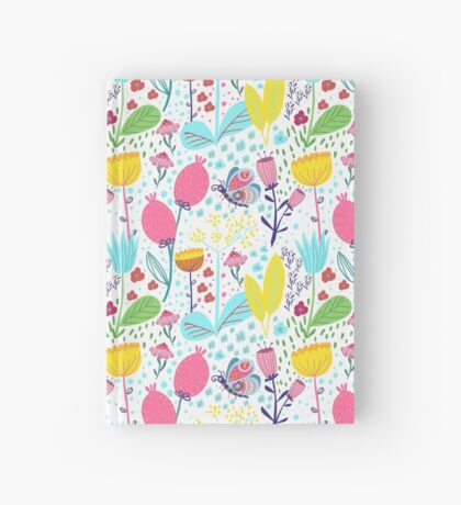 Funky Flowers Hardcover Journal