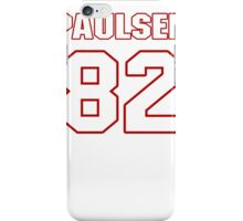 NFL Player Logan Paulsen eightytwo 82 iPhone Case/Skin