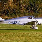 Miles M.11A Whitney Straight G-AERV by Colin Smedley