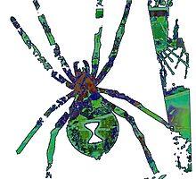 Arachnophilia-Green by TheFuzzyPepe